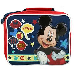 Mickey Mouse Lunch Bag [Gosh, Cheese, Cheese!]$16.99