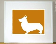 Just bought this as a gift for a friend who lost his 12-year-old Corgi, Darma... All dogs go to Heaven!