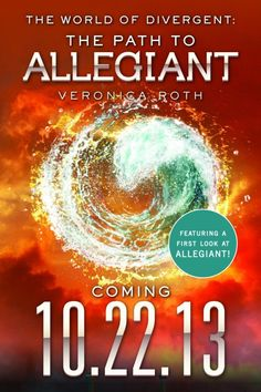 ALLEGIANT!!! Can't wait. One thing to look forward to about fall! ~Kristen