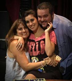 Lauren and her parents
