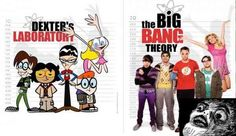 Dexter's Laboratory vs The Big Bang Theory – My Mind is Blown!