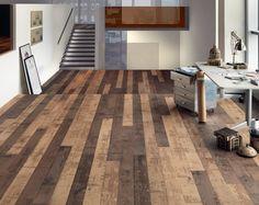 New inspiration: Repurposed Wood Flooring Look - Carving Grunge Floor by mafi, via Flickr.