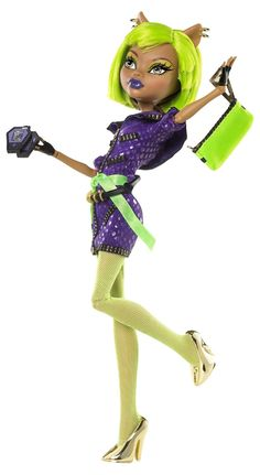 Amazon.com: Monster High Dawn of The Dance Clawdeen Wolf Doll: Toys & Games