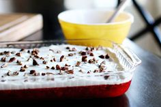 Layered Cranberry Salad w/ Cream Cheese Topping – Unsophisticook