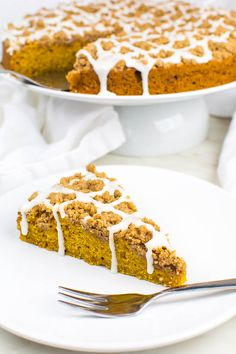 Vegan pumpkin pie with cinnamon crumble and font - Vegan - Pie Vegetarian Sweets, Vegan Sweets, Healthy Dessert Recipes, Health Desserts, Easy Desserts, Baking Recipes, Cinnamon Desserts, Recipes Dinner, Pie Recipes