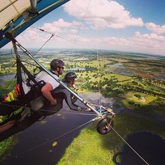 """<b> <a href=""""http://questairhanggliding.com/"""">Quest Air Hang Gliding</a></b> <br> 6548 Groveland Airport Road, Groveland, 352-429-0213, <b> $209-$299</b> <br> Fly like an eagle on one of Quest Air's Discovery Tandem flights with your very own instructor to keep you from pummeling to your death. Weather permitting, you might be able to see both Florida coasts, Disney, Universal Studios and even Tampa while hang gliding. Reservations are required. Call Quest Air to schedule.  <br> Photo via…"""