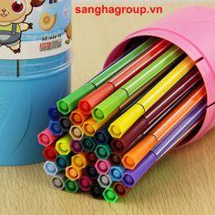 Sang Hà Văn phòng phẩm giá sỉ - Bút màu nước - 12 màu Deli - 7065