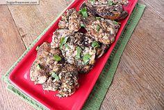 Crock Pot Balsamic Chicken Thighs \ sugarfreemom.com