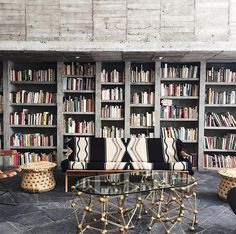 Bookshelves and bookcases are highly sought after pieces of furniture. This seems to be the case as people are continuing … Wall Mounted Bookshelves, Modern Bookshelf, Industrial Bookshelf, Bookshelf Design, Industrial Furniture, Bookcases, Decor Interior Design, Interior Decorating, Library Study Room