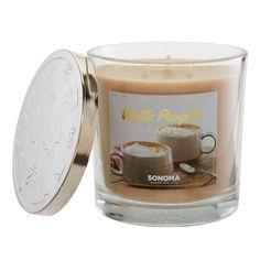 SONOMA Goods for Life™ 14-oz. Vanilla Pumpkin Latte Candle Jar, Multicolor