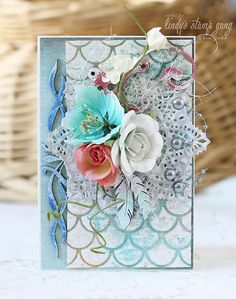 Spring otkrytochku Card & video by Irina Gerschuk ~ Cards 1.
