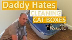 Do you hate cleaning the litter box as much as this guy does?This automated cat box was his solution!