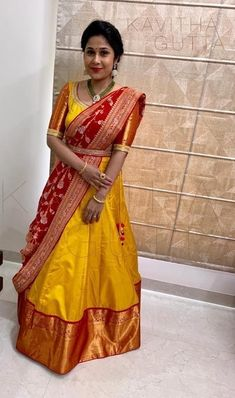 Lehenga Saree Design, Half Saree Lehenga, Lehnga Dress, Long Anarkali, Pink Lehenga, Indian Lehenga, Bridal Lehenga, Sarees, Half Saree Designs