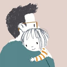 jane massey's pictures make me want to hug myself – Jama's Alphabet Soup Hug Illustration, My Little Paris, Cute Family, Cute Little Girls, S Pic, Easy Drawings, Cute Wallpapers, Anime Art, Character Design