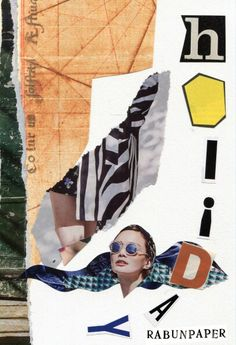 Dailycollage 26. Holiday / 3 Mar, 16  #papercollage #collage #rabunpaper #collageart #mailart #라분의페이퍼  #drawing #artwork #handmade #콜라주