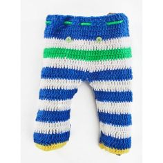 Woolen Baby Pants / Hoppers Lower - Blue by Mayra Knits #winterbabyclothes #babyboutique #trendybabyclothes