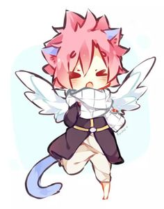 Possibly the greatest thing of Natsu of all time <--- this is Nappy Dragneel, say hi guys.