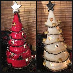 Ceramic christmastrees!