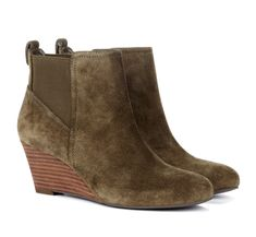 olive suede boots