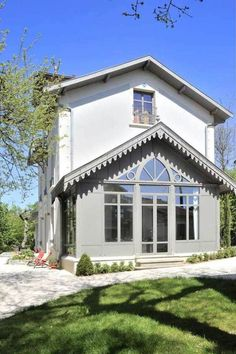 Renovation Facade, House Goals, Extensions, Bungalow, Tiny House, Sweet Home, Cottage, Exterior, Mansions