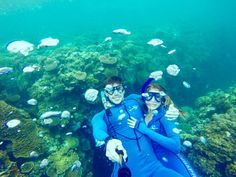 I don't think there is a stronger way to bond with your significant other than to snorkel the Great Barrier Reef together.  #theultimatedate #greatbarrierreef #snorkel #iloveyou #myfavoriteday #bestmemoryever by thechristaleigh http://ift.tt/1UokkV2