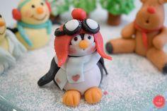 Especial de Natal Bellaria  Como modelar pinguim, boneco de neve, rena e muito mais!