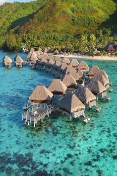 creativemag: Creative Magazine Hilton Bora Bora Hotel Water Bungalow ᴷᴬ