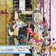 And Then it Did by The Urban Fairy at The Digital Scrapbooking Studio. I won this at iNSD! Date of Purchase: 2014 05 03