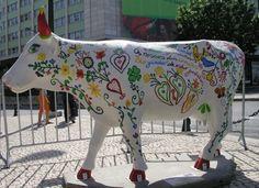 Vaca Enamorada - Cow Parade Portugal
