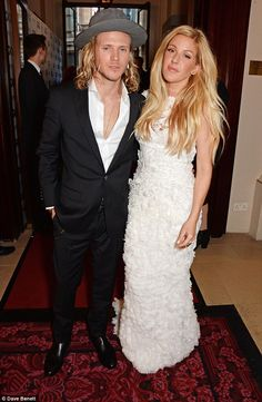 Stylish pair:The 27-year-old and her McFly star boyfriend were among the famous faces who...