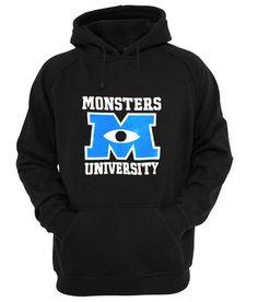 monsters university Hoodie #hoodie #clothing #unisexadultclothing #hoodies #grapicshirt #fashion #funnyshirt