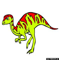 leaellynasaura coloring page