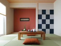 一条工務店「和モダンルーム」 Tatami Room, Japanese House, Japanese Style, Japanese Interior, Ideal Home, Dining Bench, I Smart, Table, Furniture