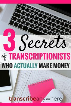 Transcriptionists who actually make money? Is there such a thing? If you've bought into the myth that transcription is a giant scam, guess again. Transcription is a legit work-at-home job that is NOT easy and is not for lazy people.