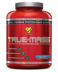 BSN True Mass Vanilla Ice Cream 582lb * Check out this great product. (This is an affiliate link)