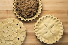 This is the pie crust dough recipe I use :) NYT Cooking: How to Make a Pie Crust From Scratch