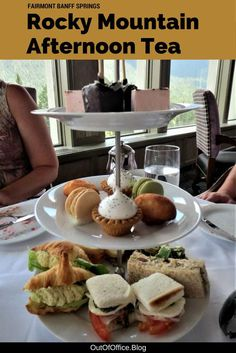 Enjoy a traditional afternoon tea surrounded by incredible views before exploring the Castle of the Rockies in Banff Canada