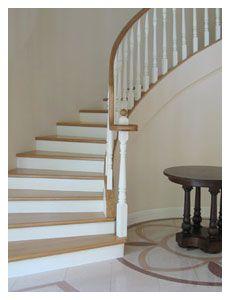 schody, podłoga