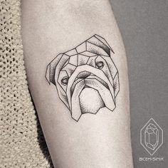 geometric bull dog - Google Search