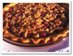 Cranberry Walnut Pie - gluten-free