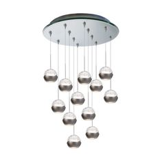 Genesis LED Modern / Contemporary Chandelier With dual uplight and downlight LED engines, Genesis integrates high performance with ambient lighting. An evolutionary design in a diminutive size resulting in a stunning decorative accent. Multi Light Pendant, Mini Pendant Lights, Pendant Lighting, Contemporary Pendant Lights, Modern Lighting, Contemporary Design, Discount Lighting, Lighting Solutions, Houses
