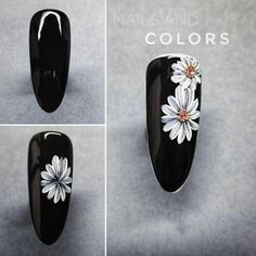 We come up with the best nail art designs. Make sure you check them out. Cute Nail Art, Cute Nails, Pretty Nails, Nail Tutorials, Design Tutorials, Nail Art Fleur, Sunflower Nail Art, Motif Arabesque, Nagel Blog