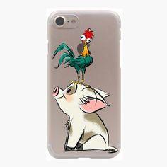 Transparent Moana Cartoon Case for iPhone 7 7 Plus 6 6S Plus 5 5S SE 5C 4 4S