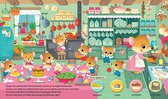 Portfolio Archivi | Federica Iossa Puzzle, Vintage Children's Books, Kids Education, Cute Art, Playroom, Illustration Art, Scene, Drawings, Phone 7