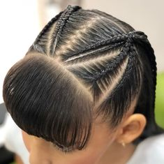 Little Girl Braids, Girls Braids, Little Girl Hairstyles, Cute Hairstyles, Braided Hairstyles, Teenage Hairstyles, Curly Hair Styles, Natural Hair Styles, Girl Hair Dos