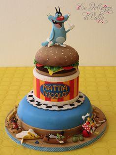 Oggy's cake- Oggy e i maledetti scarafaggi