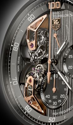 #TAGHeuer #MikrotourbillonS amazing dial for a stunning technology