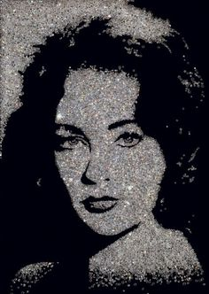 Vik Muniz - Liz Taylor