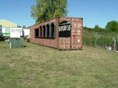 Constructing Aprisa Mexican - Portland, OR, - Shipping Container ...