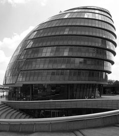 London City Hall by Norman Foster.  Photo by Jane Sanders